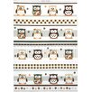 Mierco Owl Print Tea Towel (Set of 2)