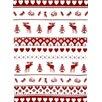 Mierco Nordic Christmas Print Tea Towel (Set of 2)