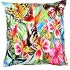 Etol Design Kissenbezug Schmetterling Fauna