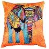 Etol Design Kissenbezug Elefant Fauna