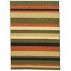 Well Woven Kings Court Green Uri Stripes Rug