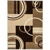 Well Woven Ruby Galaxy Waves Ivory Area Rug