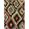 Well Woven Avenue Bliss Ikat Ivory Area Rug
