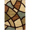 Well Woven Avenue Wavy Shapes Green Area Rug