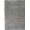 Well Woven Madison Shag Plain Solid Grey Area Rug