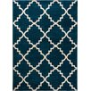 Well Woven Sydney Lulu'S Lattice Navy Blue Area Rug
