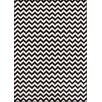 Well Woven Sydney Eli Chevron Black/White Area Rug