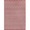 Well Woven Sydney Eli Chevron Rust/White Area Rug