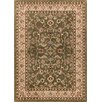 Well Woven Barclay Sarouk Border Green Area Rug