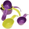 Starfrit 5 Piece Snap Fit Measuring Cups Set