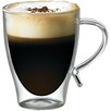 Starfrit 12 oz. Double-Wall Glass Coffee Cup