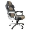 Alpen Home Anderson High-Back Leather Match Executive Chair