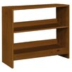 dCor design Mai Mid Sleeper Short 75cm Standard Bookcase