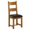 Alpen Home Millais Petite Solid Oak Upholstered Dining Chair