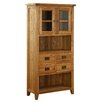 Alpen Home Millais Petite Solid Oak Display Cabinet
