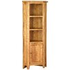 Alpen Home Millais Petite Solid Oak Corner Display Cabinet