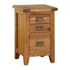 Alpen Home Millais Premium 3 Drawer Bedside Table