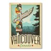 Alpen Home Vancouver by Anderson Graphic Art Wrapped on Canvas