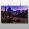 Alpen Home Eagle Peak Photographic Print on Canvas