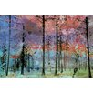Alpen Home Lost in the Forest Art Print Wrapped on Canvas