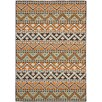 Alpen Home Pryor Creek Marea Orange Indoor/Outdoor Area Rug