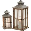 Alpen Home 2 Piece Lantern Set