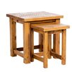 Alpen Home Ponderosa Park 2 Piece Nest of Tables