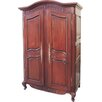 Prestington Mahogany 2 Door Wardrobe