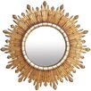 Prestington Mahogany Eclipse Mirror
