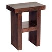 Prestington Chiyoda H Shape Wood Decorative Stool