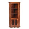 Prestington Heritage Solid Sheesham Corner Display Cabinet