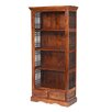 Prestington Heritage Tall Wide Wooden 186cm Standard Bookcase