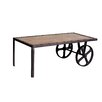 Borough Wharf Canonero Coffee Table with Wheels