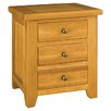 Château Chic Corridoni 3 Drawer Bedside Table