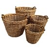 Château Chic 4 Piece Gifts and Accessories Willow Basket Set