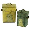 Château Chic 2-Piece Cat Food Tin Set