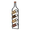 Château Chic 4 Bottle Wall Mounted Wine Rack