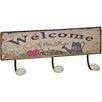 ChâteauChic Wandmontierte Garderobenleiste Welcome to Our Home