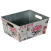 Château Chic Oblong Flower Tin