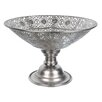 Château Chic 23.5cm Steel Bowl in Silver