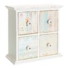 Château Chic Kindly Kindle 4 Drawer Jewelry Chest