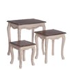 Château Chic Commodore 3 Piece Nesting Tables