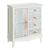 Château Chic Kindlykindle 1 Door 4 Drawer Chest of Drawers