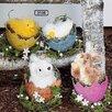ChâteauChic 4 Piece Easter Animals Figurine Set