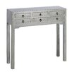 Château Chic Orientaricus 6 Drawer Console Table