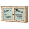 Vintage Boulevard 65 x 35cm Wall Mounted Cabinet