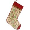 Vintage Boulevard Merry Stocking