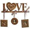 "Vintage Boulevard Hannah ""Love"" Coat Hook with Picture Frame"