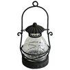Vintage Boulevard Aiden Etched Lantern in Black