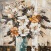 Vintage Boulevard Gemälde Blumen